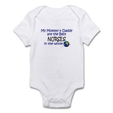 Best Nurses In The World Infant Bodysuit