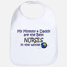 Best Nurses In The World Bib