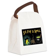 Sit for a Spell Canvas Lunch Bag