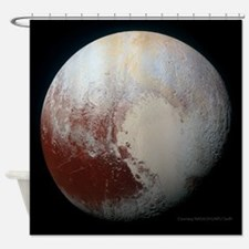 Pluto - The Largest Dwarf Planet Shower Curtain