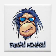 Funky Monkey Tile Coaster