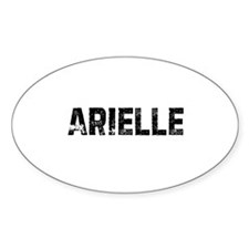Arielle Oval Decal