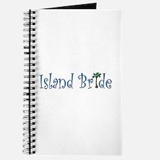 Island Bride with Palm Tree Journal