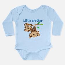 Monkeys Little Bro W B Long Sleeve Body Suit