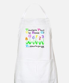TEACHERS PLANT THE SEEDS OF LEARNING BBQ Apron