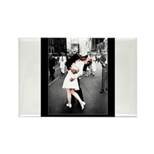 Cute Kiss Rectangle Magnet (10 pack)