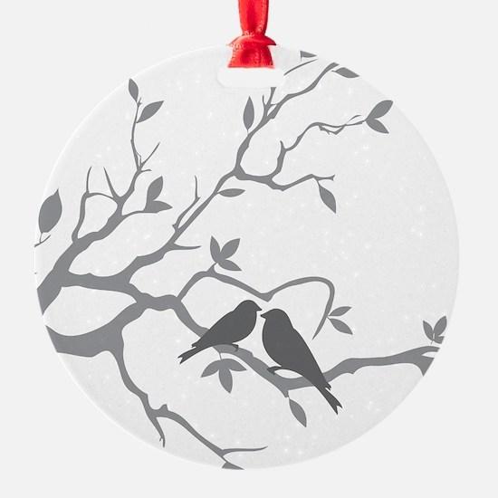 Unique Love birds Ornament