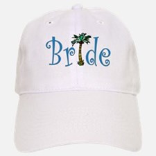 Bride with Palm Baseball Baseball Cap