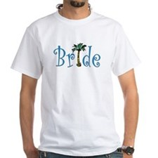 Bride with Palm Shirt