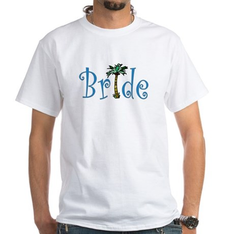 Bride with Palm White T-Shirt