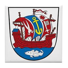 Bremerhafen Coat of Arms Tile Coaster