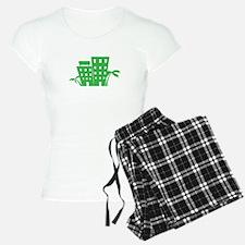 Palms & Buildings Pajamas