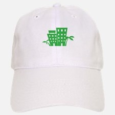Palms & Buildings Baseball Baseball Baseball Cap