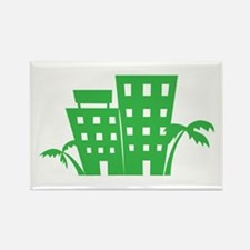 Palms & Buildings Magnets