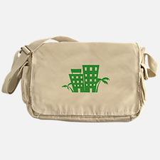 Palms & Buildings Messenger Bag