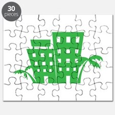 Palms & Buildings Puzzle