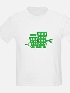 Palms & Buildings T-Shirt