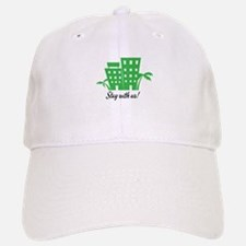 Stay With Us Baseball Baseball Baseball Cap