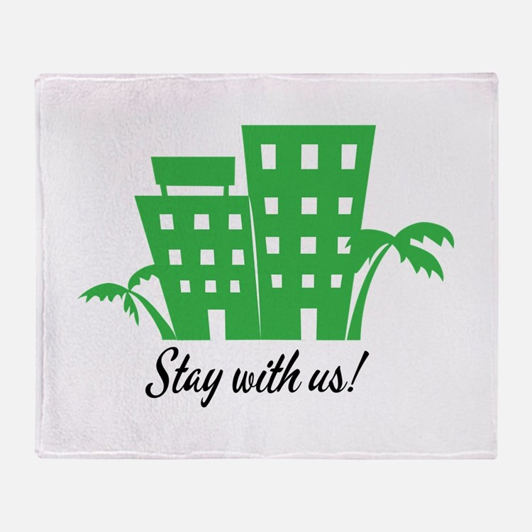 Stay With Us Throw Blanket