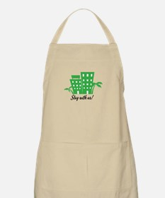 Stay With Us Apron