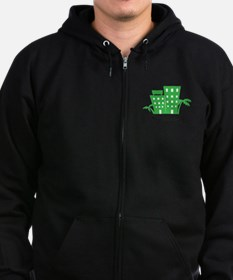 Stay With Us Zip Hoodie