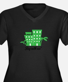 Stay With Us Plus Size T-Shirt