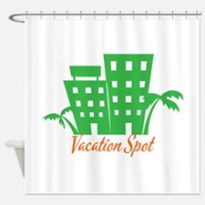 Vacation Spot Shower Curtain