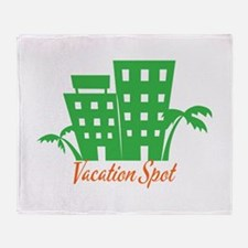 Vacation Spot Throw Blanket