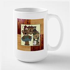 CABIN BEARS Large Mug