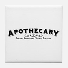 Funny Eclectic Tile Coaster