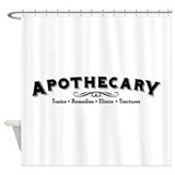 Apothecary Shower Curtains