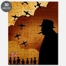 W. Churchilll at WW2 Puzzle