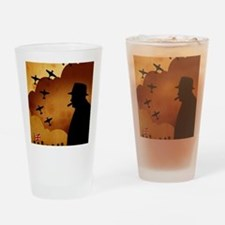 W. Churchilll at WW2 Drinking Glass