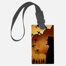 W. Churchilll at WW2 Luggage Tag