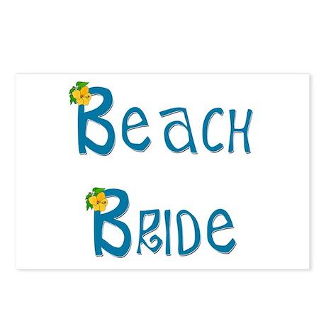 Beach Bride Postcards (Package of 8)