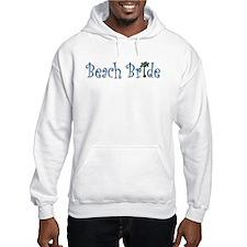 Beach Bride Palm Hoodie