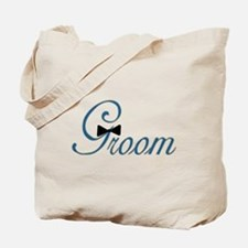 Elegant Groom Bow Tie Tote Bag