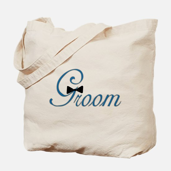 Elegant Groom Bow Tie Tote Bag