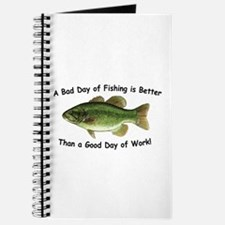 Bad Day Fishing Bass Journal