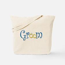 Groom Wedding Rings Tote Bag