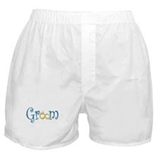 Groom Wedding Rings Boxer Shorts