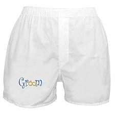 Groom Wedding Rings Boxer Shorts