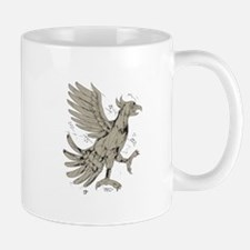 Cuauhtli Glifo Eagle Symbol Low Polygon Mugs