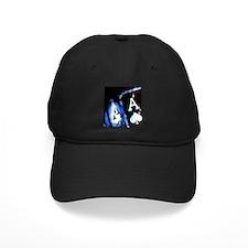 Blue Flame Pocket Aces Poker Baseball Hat