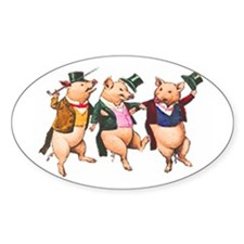 Three Little Pigs Decal