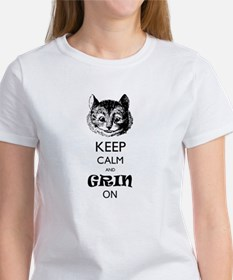 Keep calm and grin on T-Shirt