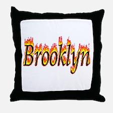 Brooklyn Flame Throw Pillow