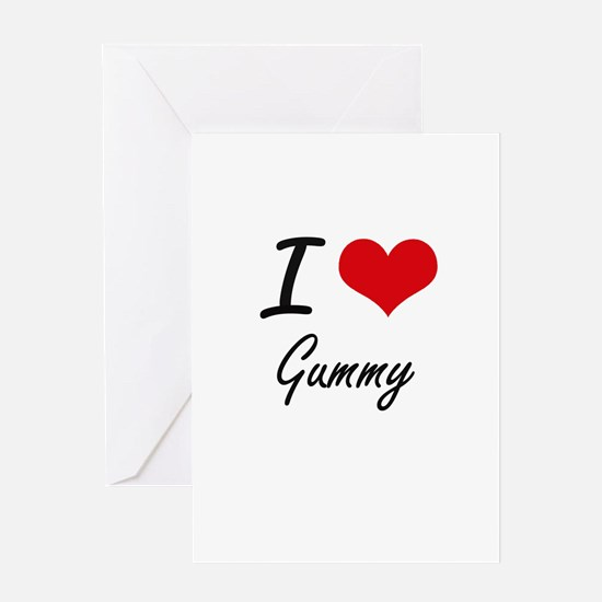I love Gummy Greeting Cards
