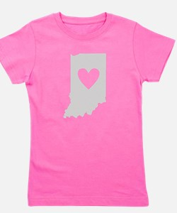 Cute Indianapolis Girl's Tee