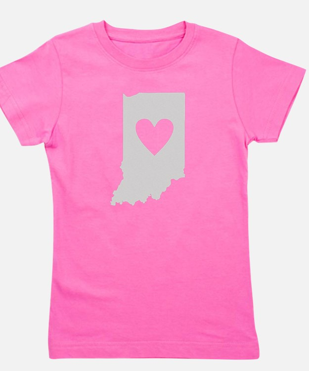 Cute Indiana Girl's Tee